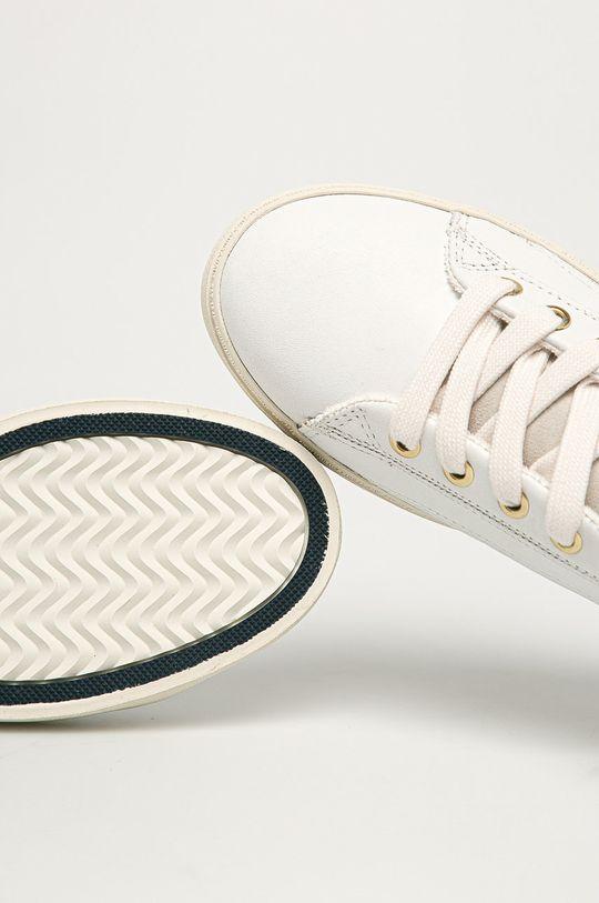 biały Gant - Buty skórzane Lagalilly
