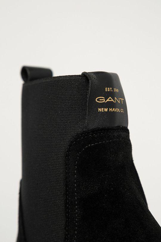 Gant - Botki skórzane Vanna Damski