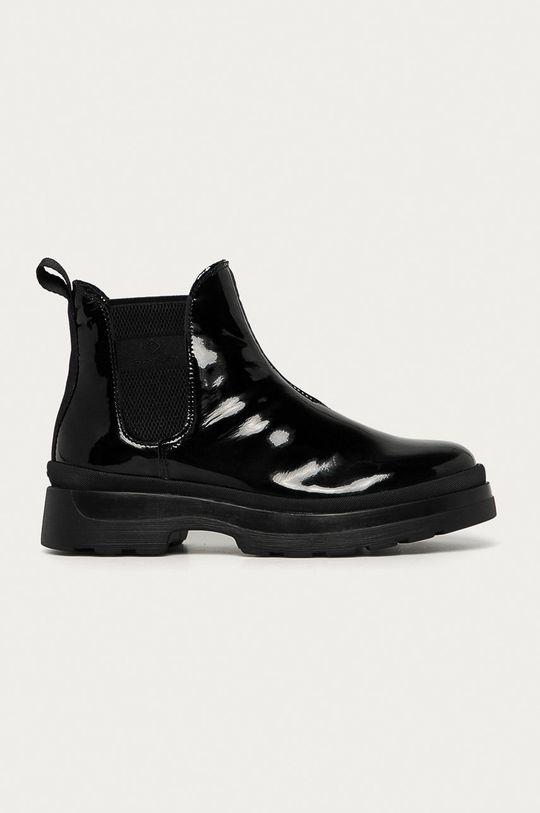 černá Gant - Kožené kotníkové boty Windpeak Dámský