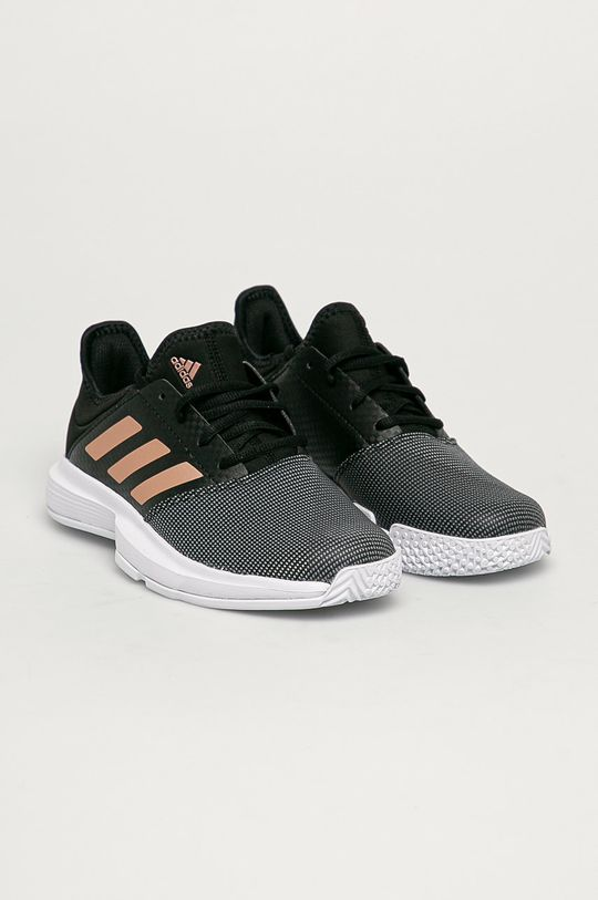adidas Performance - Pantofi GameCourt W negru