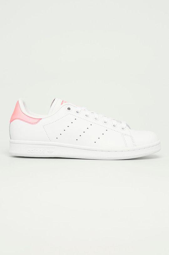 biela adidas Originals - Topánky Stan Smith W Dámsky