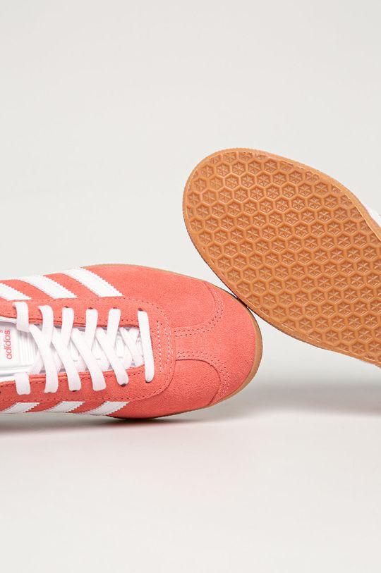 sýto ružová adidas Originals - Topánky Gazelle W
