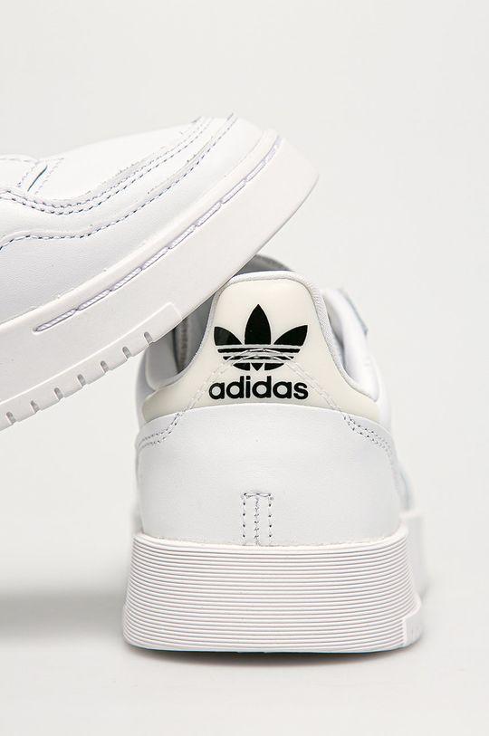 adidas Originals - Buty skórzane Supercourt Cholewka: Skóra naturalna, Wnętrze: Materiał tekstylny, Podeszwa: Materiał syntetyczny