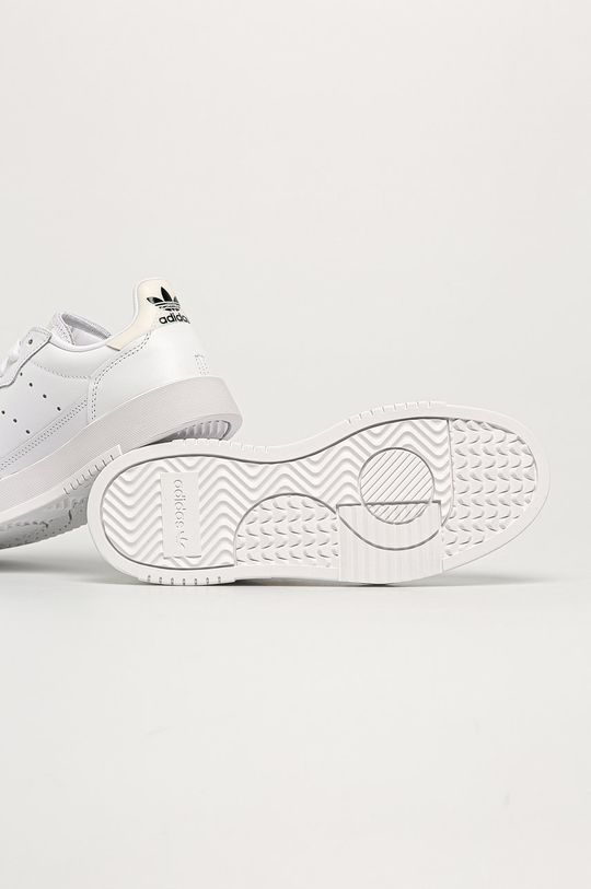 adidas Originals - Buty skórzane Supercourt Damski
