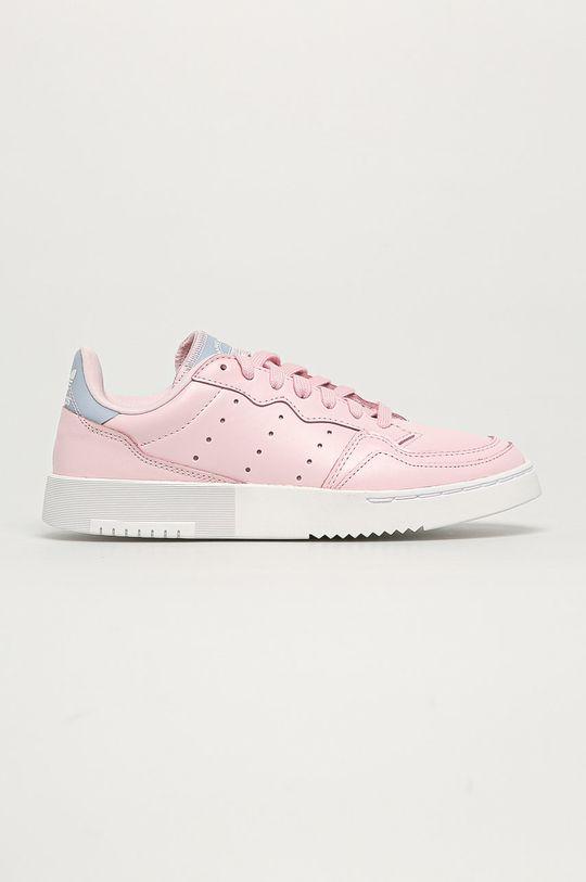 roz adidas Originals - Pantofi Supercourt W De femei