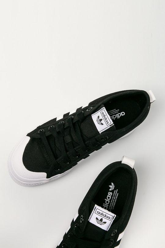černá adidas Originals - Tenisky Nizza Platform