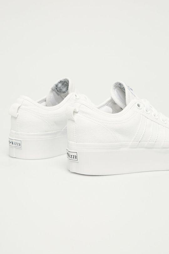 adidas Originals - Tenisky Nizza Platform W bílá