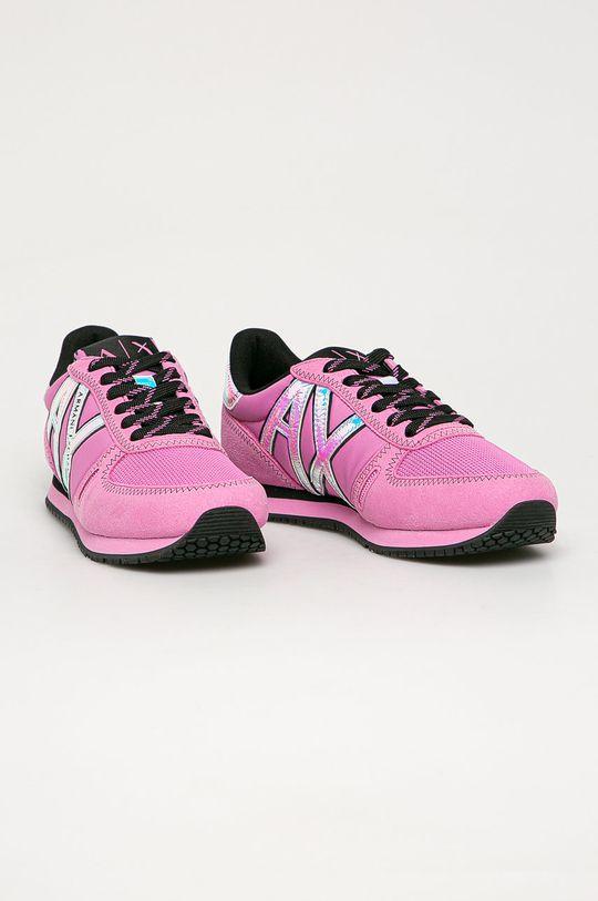 Armani Exchange - Pantofi roz