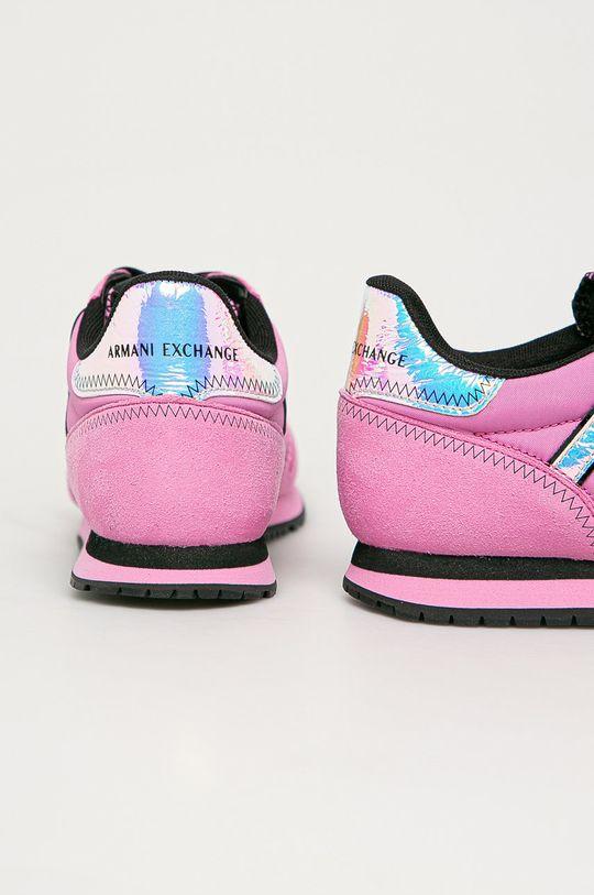Armani Exchange - Pantofi  Gamba: Material sintetic, Material textil Interiorul: Material sintetic, Material textil Talpa: Material sintetic