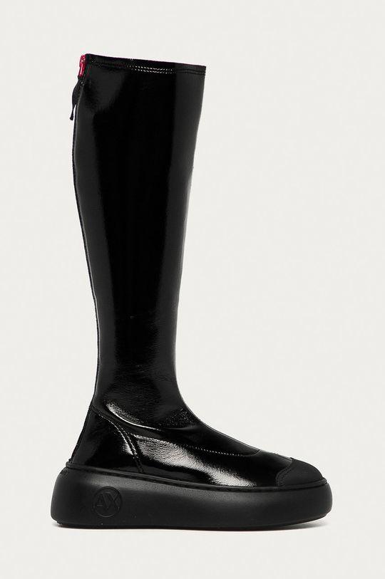 negru Armani Exchange - Cizme De femei