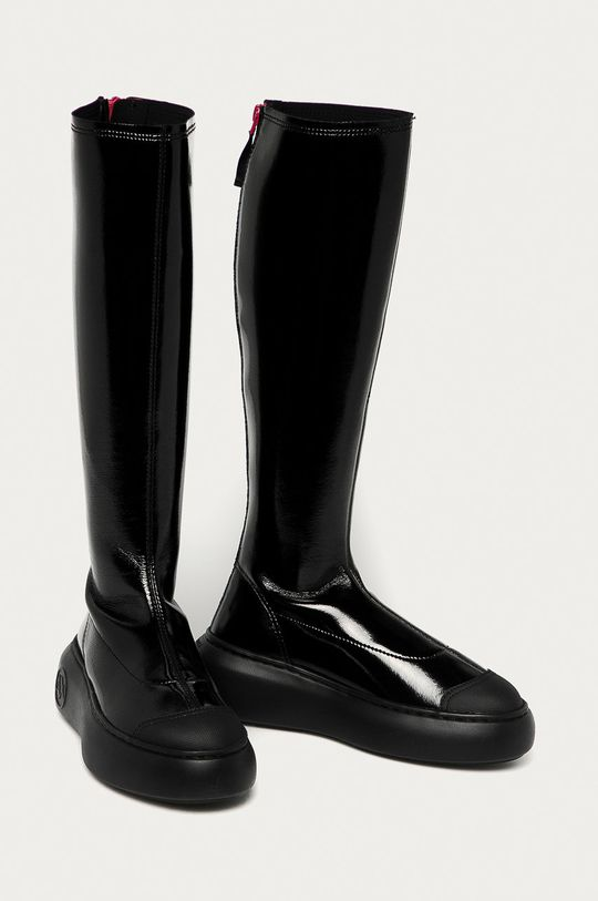 Armani Exchange - Cizme negru