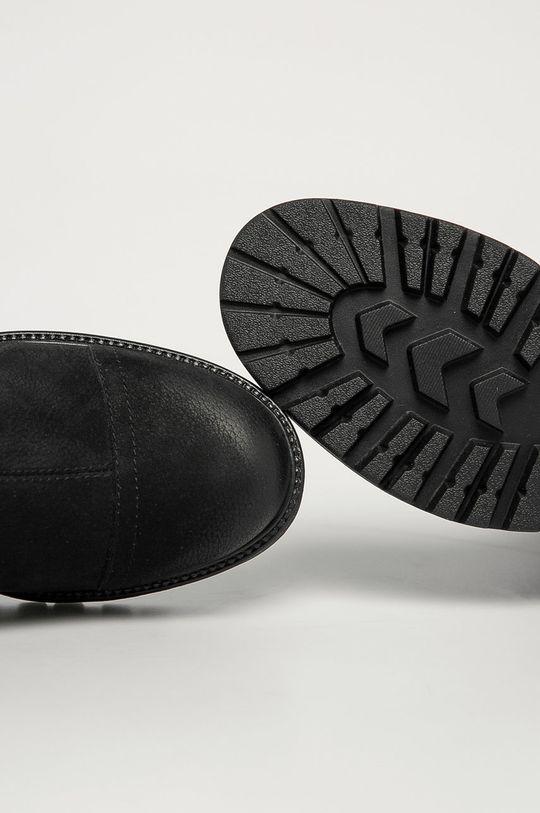 negru Vagabond - Cizme din piele intoarsa Kenova