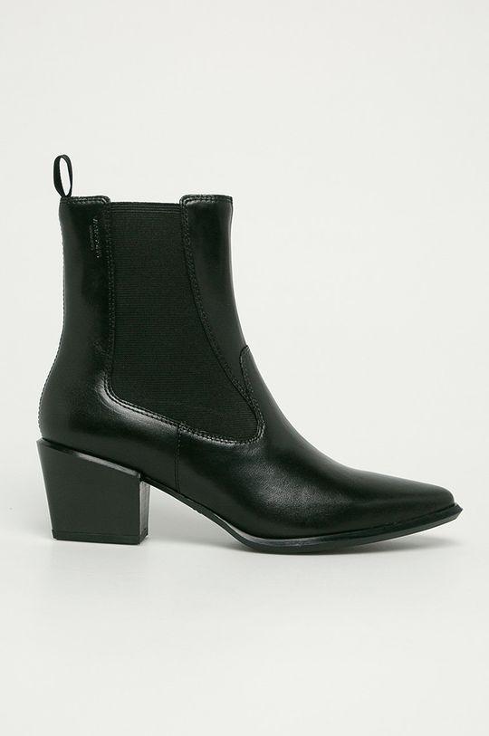 černá Vagabond - Kožené kotníkové boty Betsy Dámský