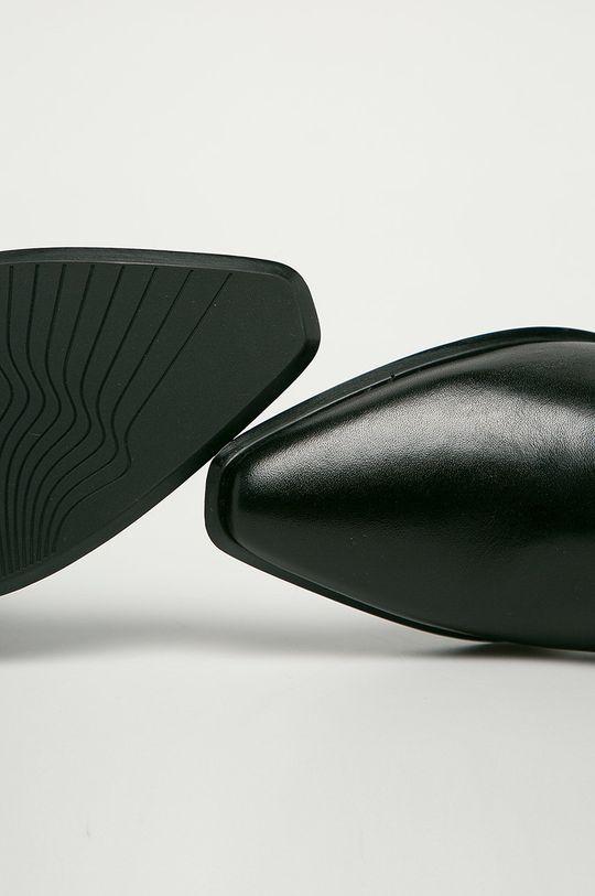 černá Vagabond - Kožené kotníkové boty Betsy