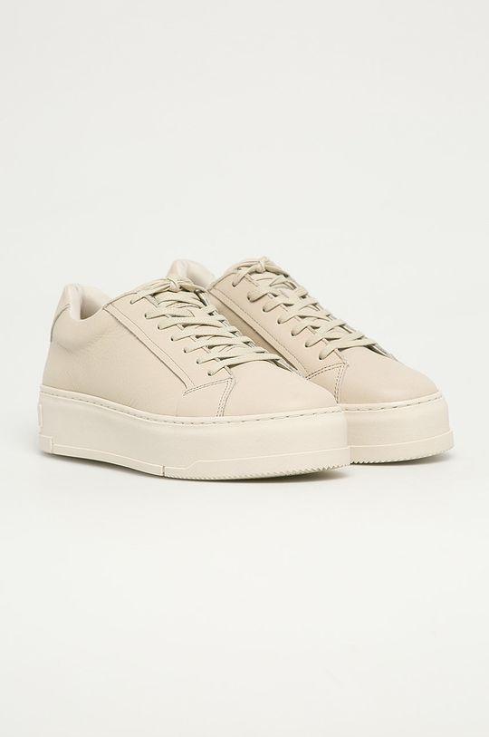 Vagabond - Buty skórzane Judy biały