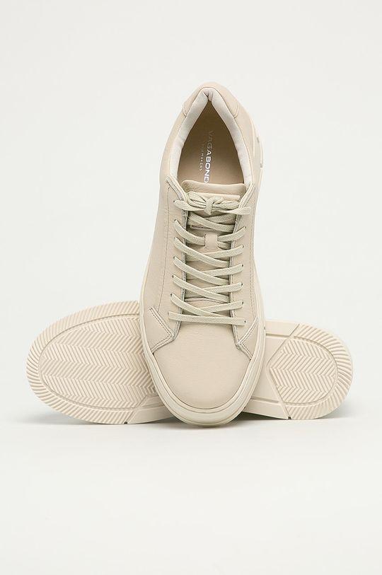 biały Vagabond - Buty skórzane Judy