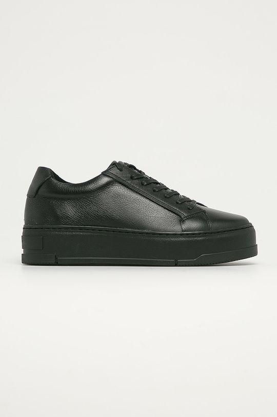 čierna Vagabond - Kožená obuv Judy Dámsky
