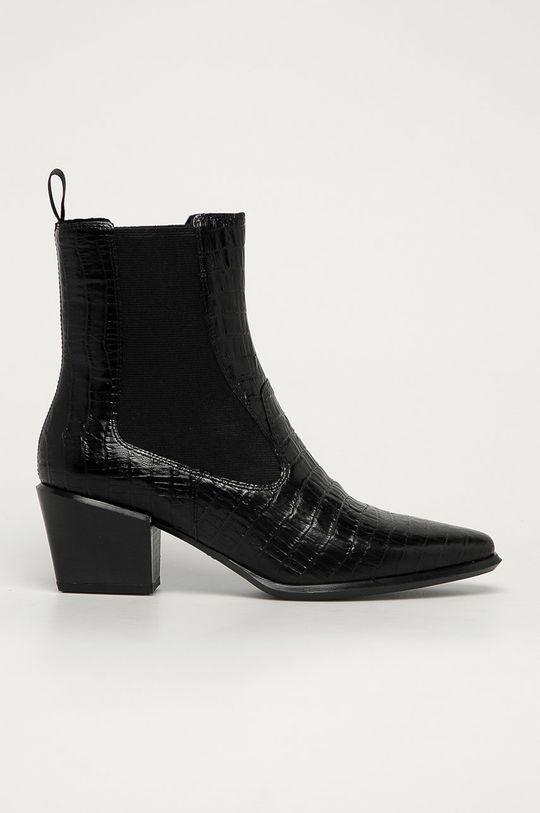 čierna Vagabond - Kožené topánky Chelsea Betsy Dámsky
