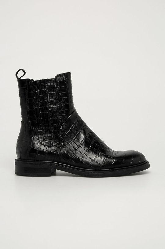 černá Vagabond - Kožené kotníkové boty Amina Dámský