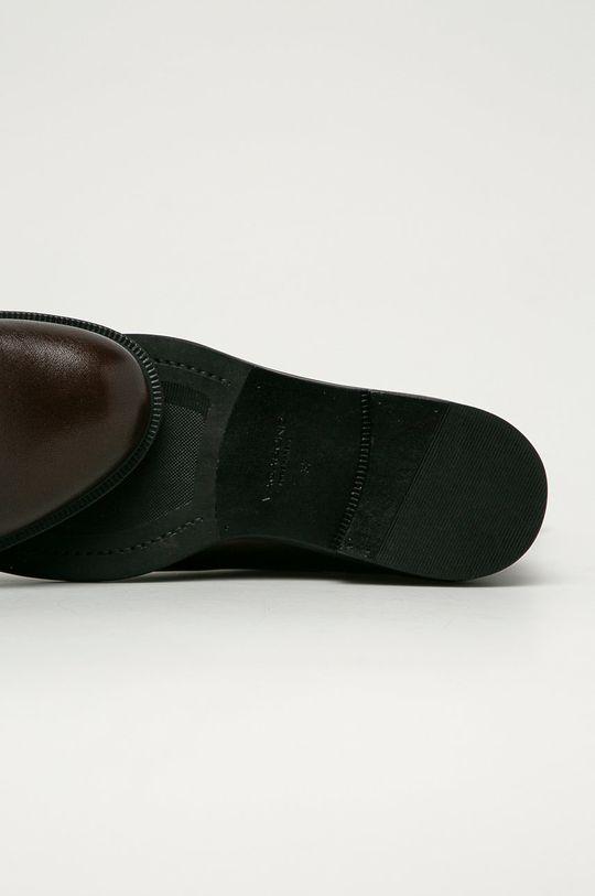 tmavohnedá Vagabond - Kožené topánky Chelsea Amina