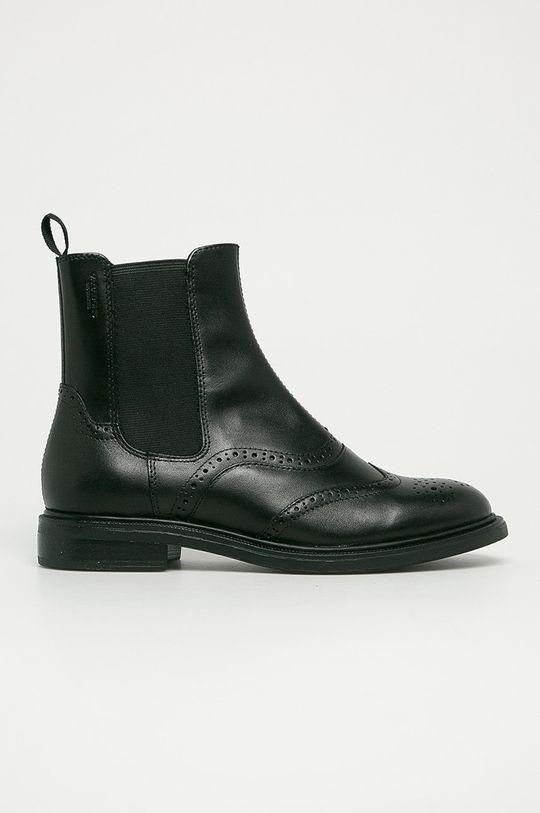 čierna Vagabond - Kožené topánky Chelsea Amina Dámsky