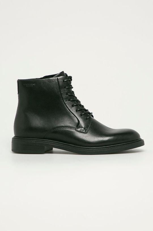 čierna Vagabond - Kožené členkové topánky Amina Dámsky