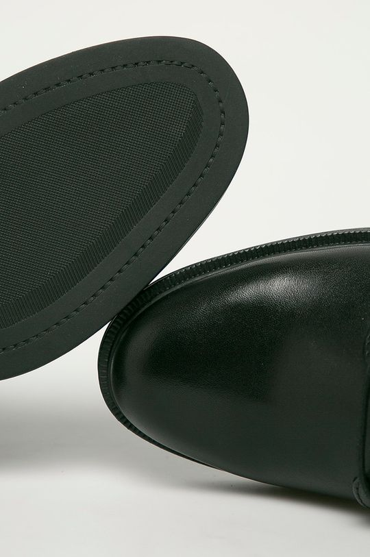 čierna Vagabond - Kožené členkové topánky Amina