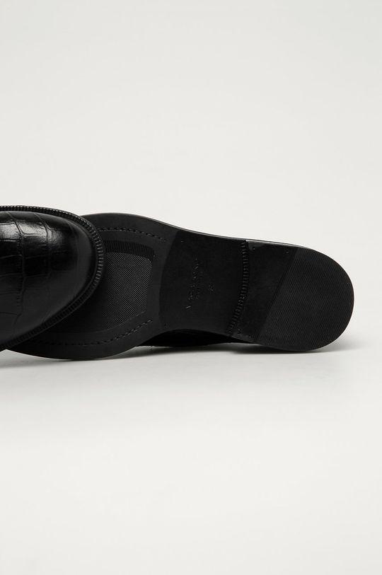 čierna Vagabond - Kožené poltopánky Amina
