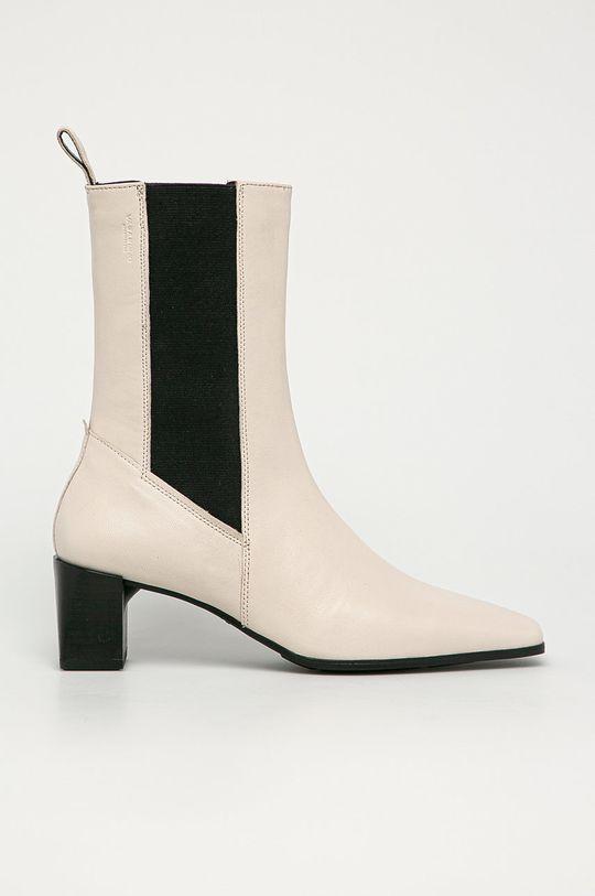 biela Vagabond - Kožené topánky Chelsea Gabi Dámsky