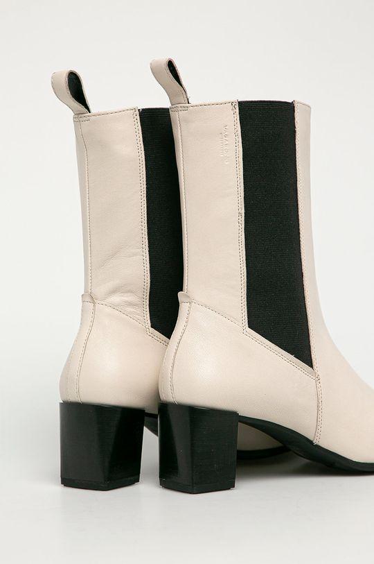 biela Vagabond - Kožené topánky Chelsea Gabi