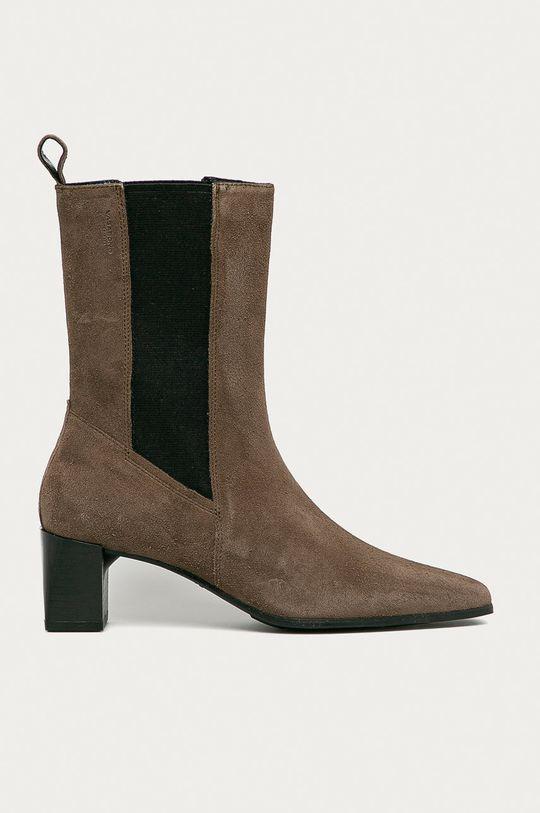 hnedá Vagabond - Semišové topánky Chelsea Gabi Dámsky