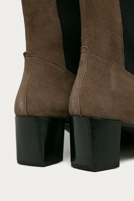 hnedá Vagabond - Semišové topánky Chelsea Gabi