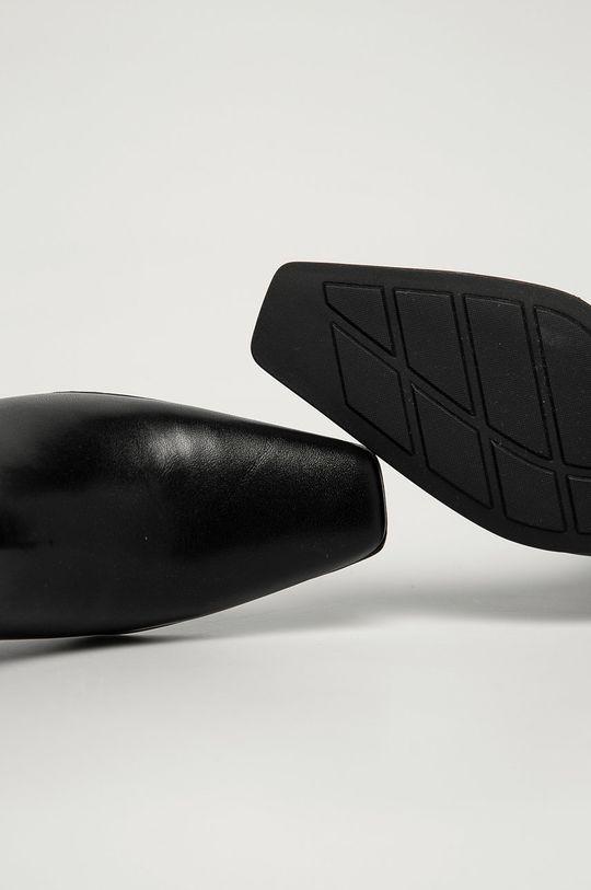 czarny Vagabond - Botki skórzane Gabi