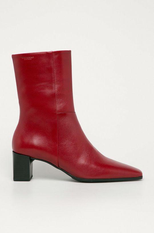červená Vagabond - Kožené členkové topánky Gabi Dámsky