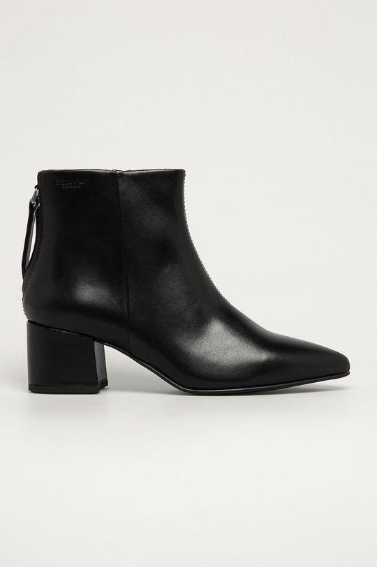 čierna Vagabond - Kožené členkové topánky Mya Dámsky