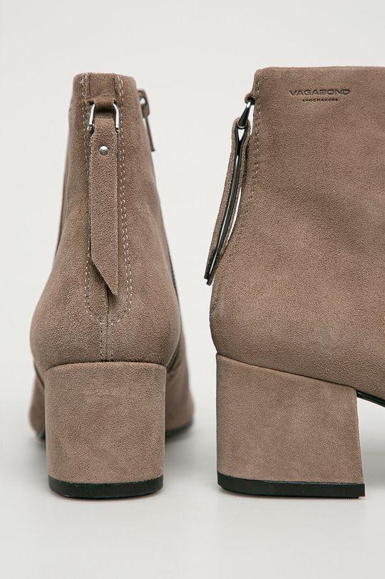 Vagabond - Kožené kotníkové boty Mya  Svršek: Semišová kůže Vnitřek: Textilní materiál, Přírodní kůže Podrážka: Umělá hmota