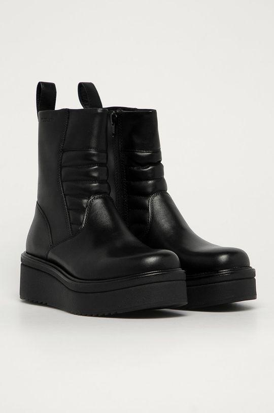 Vagabond - Členkové topánky Tara čierna