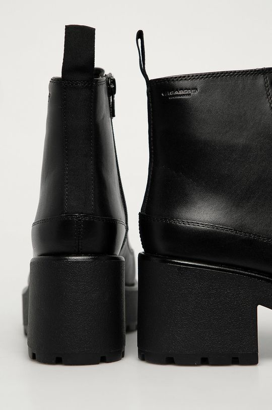 Vagabond - Kožené členkové topánky Dioon  Zvršok: Prírodná koža Vnútro: Textil, Prírodná koža Podrážka: Syntetická látka