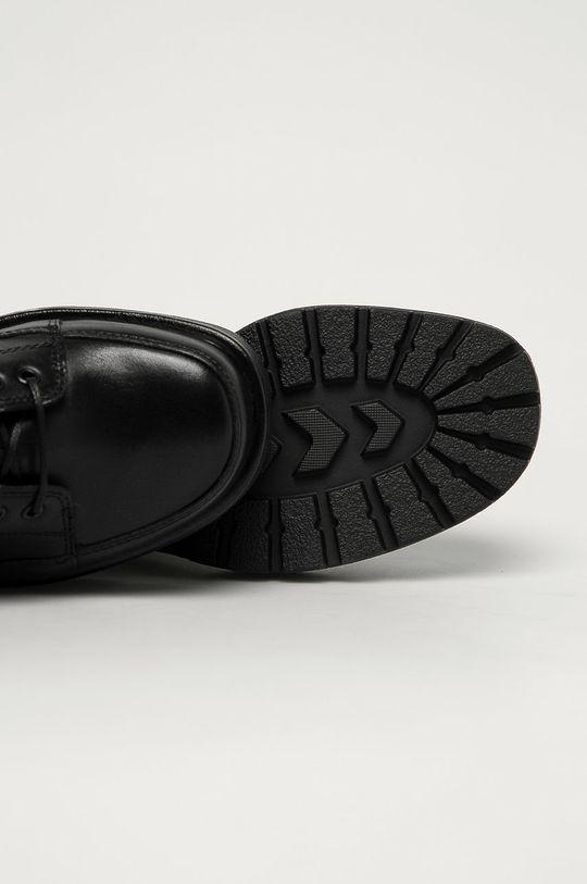 čierna Vagabond - Kožené členkové topánky Dioon