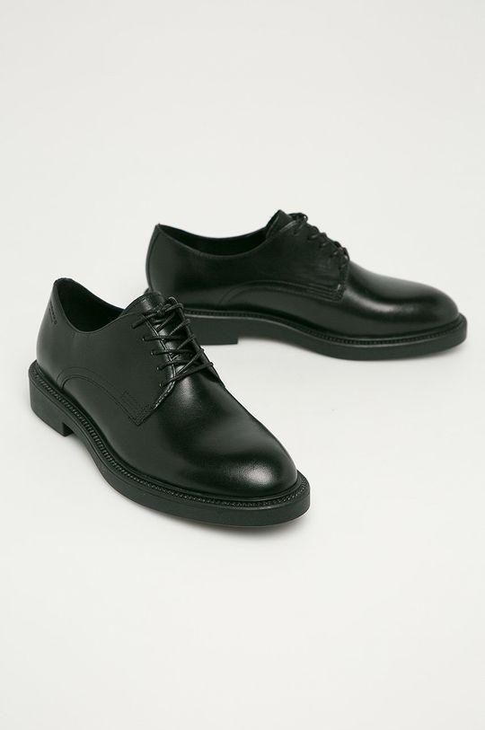 Vagabond - Pantofi de piele Alex W negru