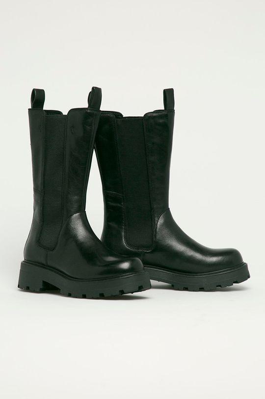 Vagabond - Kožené topánky Chelsea Cosmo 2.0 čierna