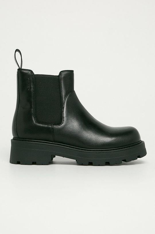 černá Vagabond - Kožené kotníkové boty Cosmo 2.0 Dámský
