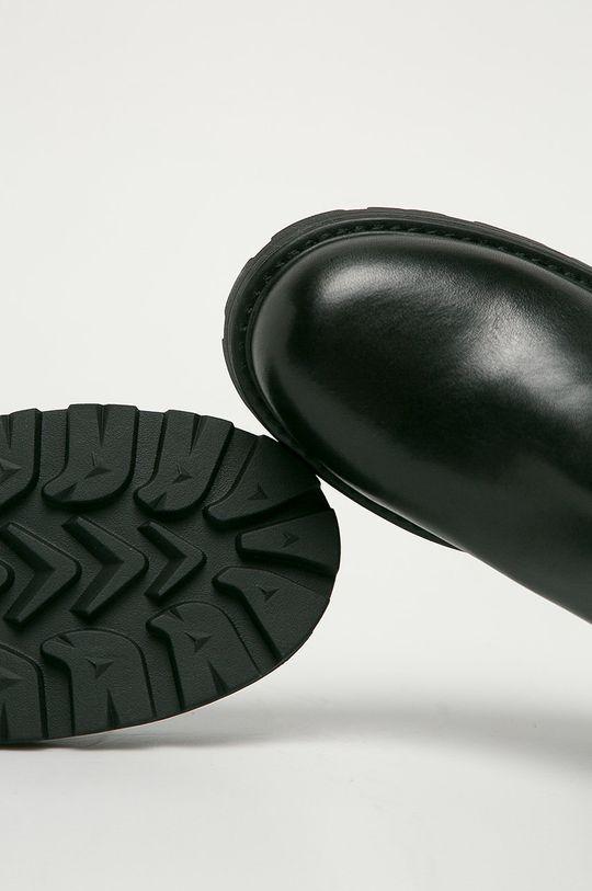 černá Vagabond - Kožené kotníkové boty Cosmo 2.0