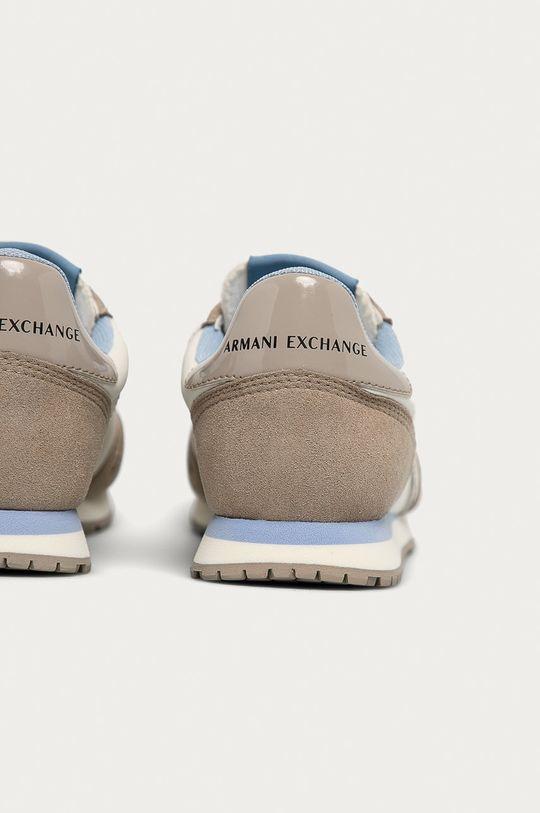 Armani Exchange - Topánky <p>  Zvršok: Syntetická látka, Textil  Vnútro: Textil  Podrážka: Syntetická látka</p>