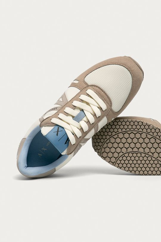 béžová Armani Exchange - Topánky
