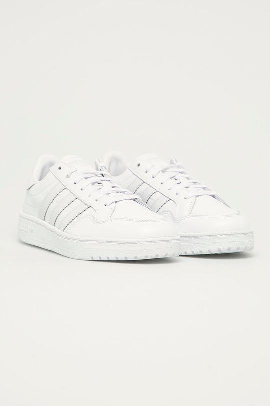 adidas Originals - Buty Team Court W biały