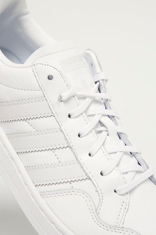 adidas Originals - Buty Team Court W Cholewka: Materiał syntetyczny, Skóra naturalna, Wnętrze: Materiał syntetyczny, Materiał tekstylny, Podeszwa: Materiał syntetyczny