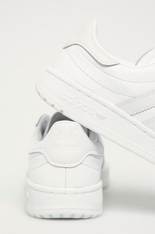 biały adidas Originals - Buty Team Court W