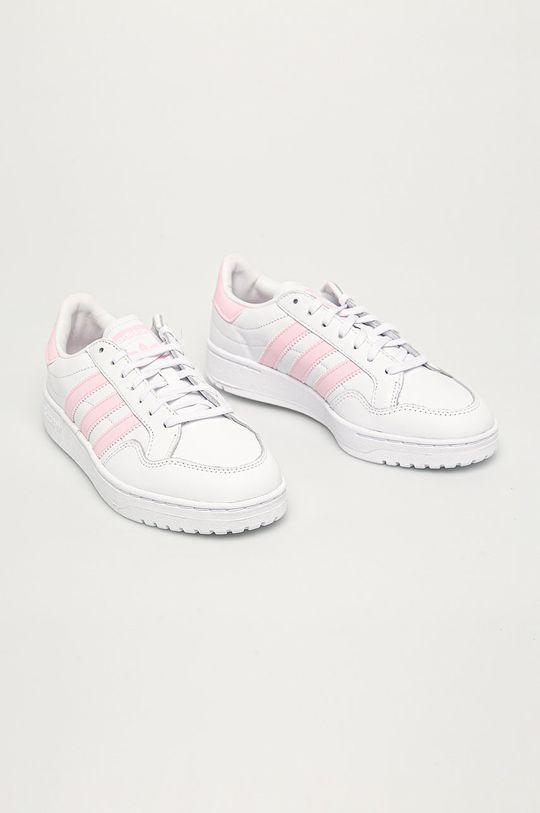 adidas Originals - Topánky Team Court biela