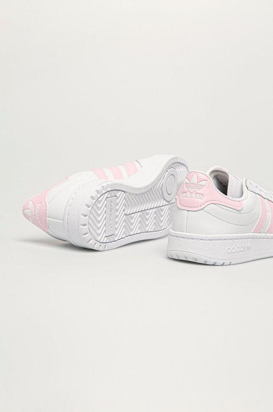 adidas Originals - Topánky Team Court  Zvršok: Syntetická látka, Prírodná koža Vnútro: Syntetická látka, Textil Podrážka: Syntetická látka